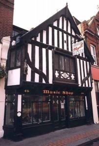The Just Flutes showroom in Croydon, London, UK
