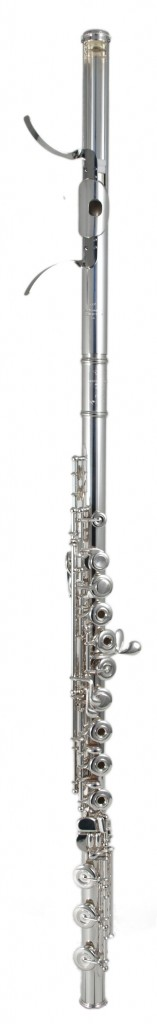 Kingma System Flute fitted with a Glissando Headjoint