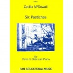 Cecilia McDowall - Six Pastiches for Flute and Piano
