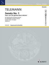 Telemann Sonata No 1