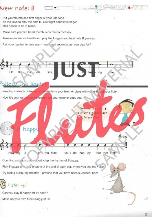 Get Set Flute! Sample Page