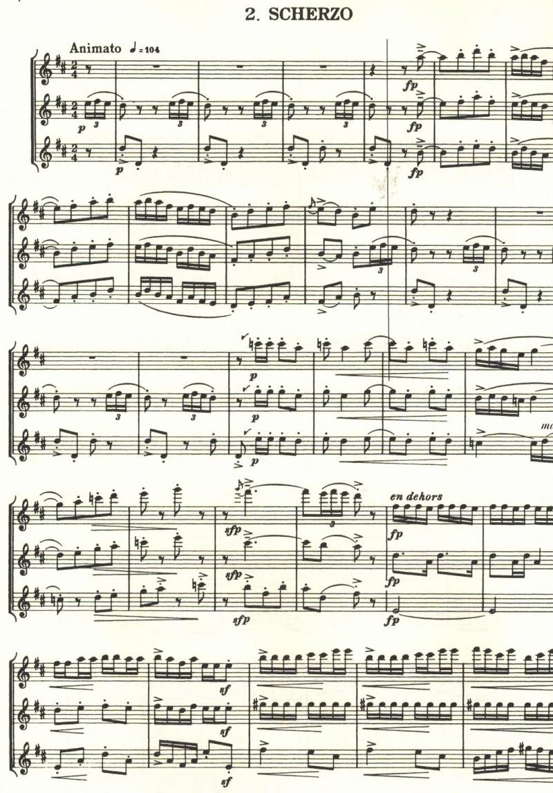 Scherzo from Trio - Tcherepnin